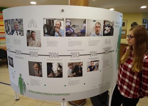 Solidarnie dla transplantacji, wystawa o transplantologii w Urzędzie Miasta Kielce przy ulicy Strycharskiej. Fot. Lukasz Zarzycki