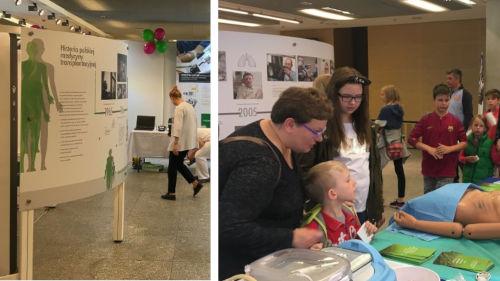Solidarnie dla transplantacji Wystawa o transplantologii na Pikniku Naukowym w Warszawie