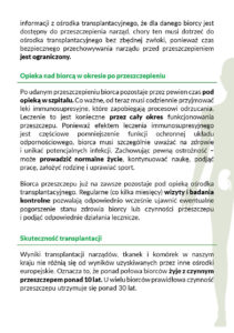 Solidarnie dla transplantacji - str 5 broszura nt leczenia przeszczepami