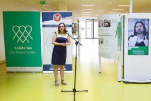 wystawa historia polskiej medycyny transplantacyjnej przeszczep Solidarnie dla transplantacji