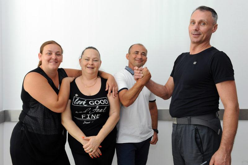 przeszczep krzyżowy pani Edyta Burza, Magda Głębocka, Robert Głębocki, Krystian Burza żywe dawstwo nerki przeszczep Solidarnie dla transplantacji
