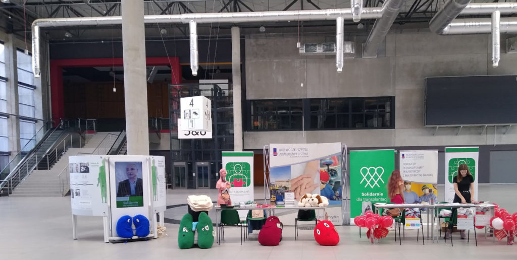 Solidarnie dla transplantacji wystawa historyczna w Ostródzie podczas ARENA FESTIVAL FILM ANDMUSIC