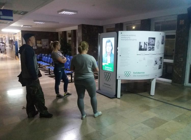 Wystawa o historii polskiej medycyny transplantacyjnej w Lublinie