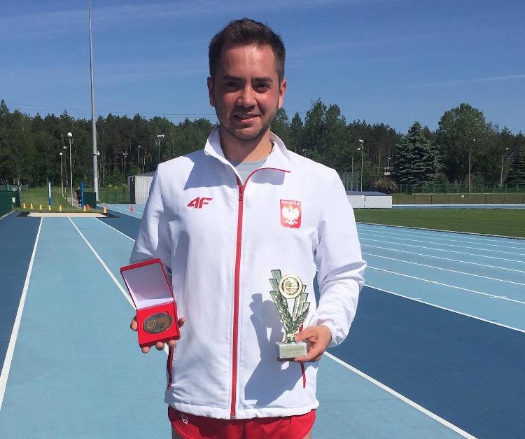 Damian Królewicz po przeszczepieniu wątroby złoty medalista