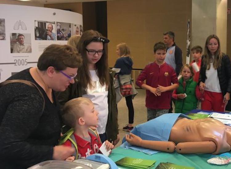 Sobota 11 maja – wystawa o historii polskiej medycyny transplantacyjnej na 23. Pikniku Naukowym w Warszawie