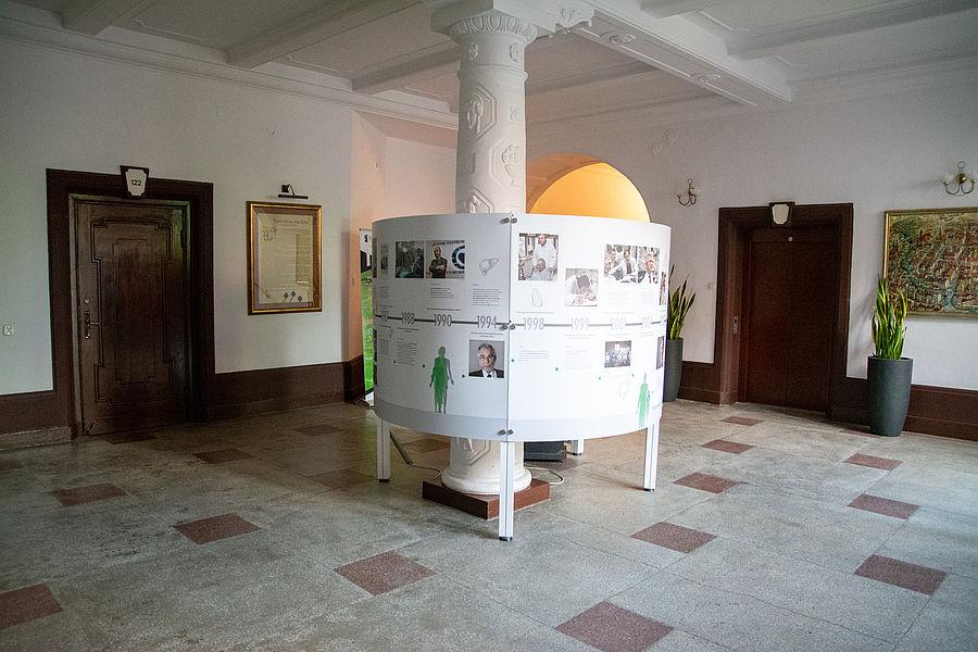 Wystawa multimedialna o leczeniu przeszczepami w Olsztynie
