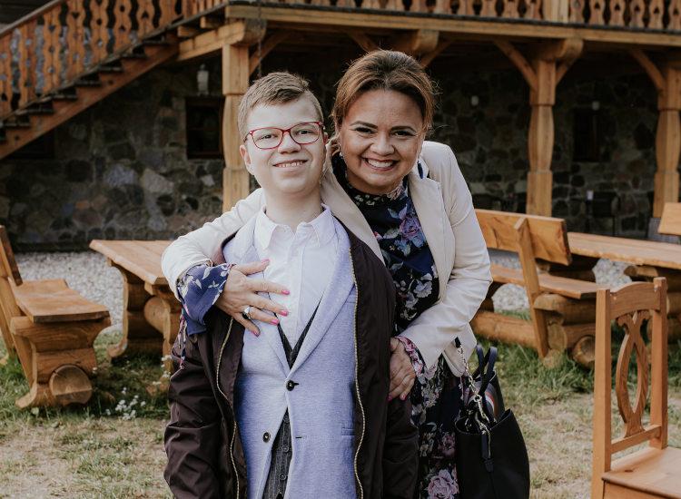 Kuba Karczewski i Magda Karczewska rodzinny przeszczep nerki żywy dawca nerki