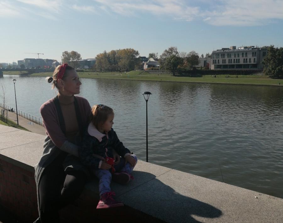 Nina Bednarczyk po przeszczepie wątroby 18 lat temu szczęśliwa mama i psycholog