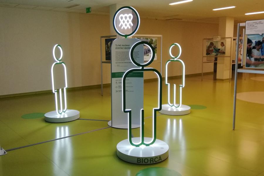 wystawa multimedialna o idei dawstwa Solidarnie dla transplantacji