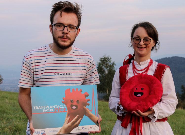 """Jeśli dzięki naszym działaniom chociaż jedna osoba otrzyma nowe życie, to dla tej jednej osoby było warto przeprowadzić projekt społeczny """"Ostatni Dar"""" – opowiada Kamil Lorek"""