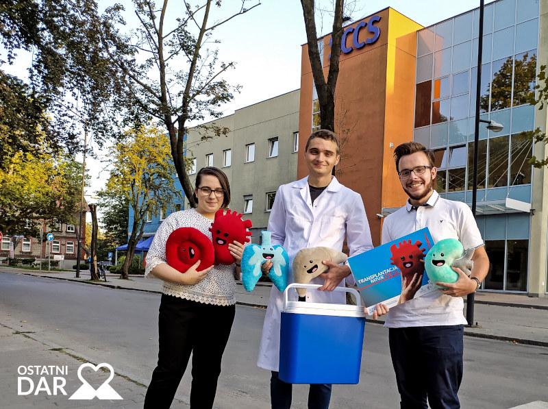 Kamil Lorek i uczestnicy akcji Ostatni Dar